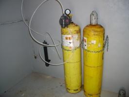 Odběr plynného chloru
